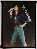 The Rolling Stones - 'Mick Jagger on Stage' Photo Patch